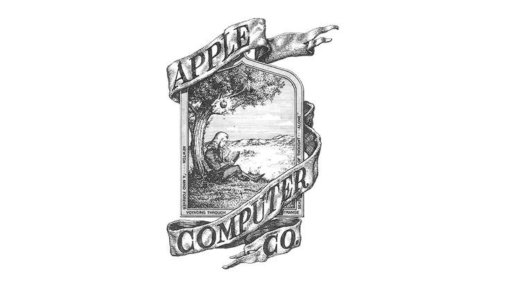 apple first logo design