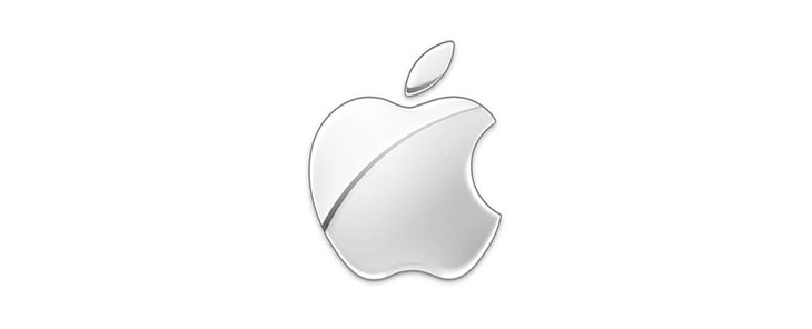 apple current silver logo