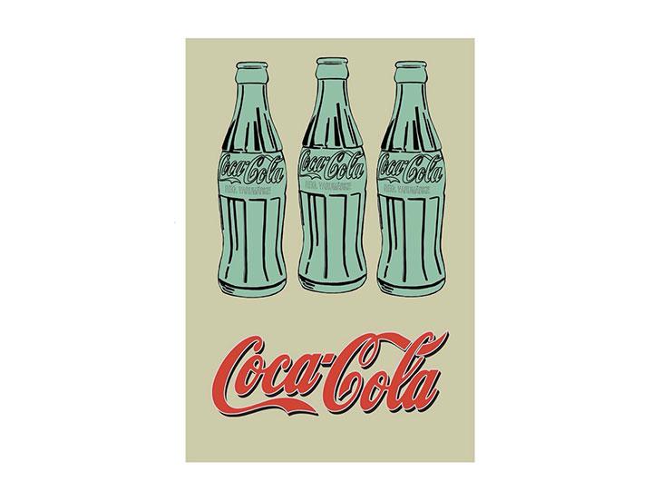 andy warhol pop art cola bottles