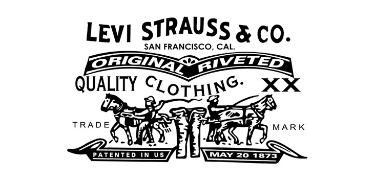 design of levi's first logo