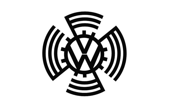 design for volkswagen's first logo
