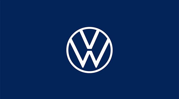 design of current volkswagen logo