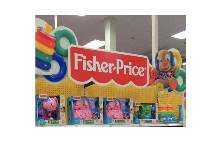 Fisher-Price store shelf