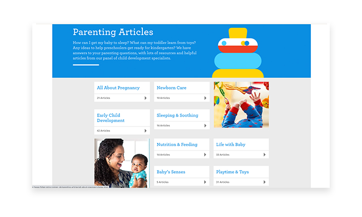 Fisher-Price content marketing srategy