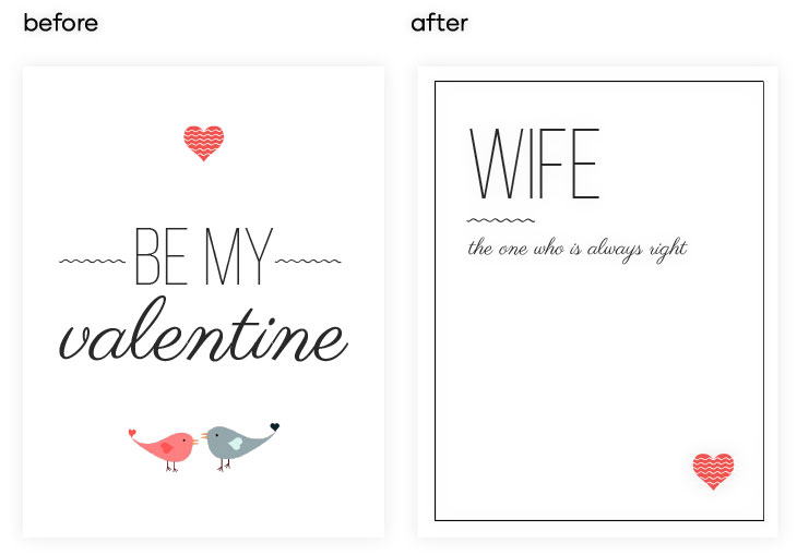 What to write in a valentines day card for your wife?