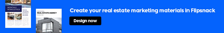 banner for using Flipsnack as a real estate marketing tool