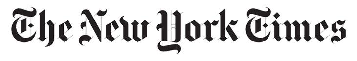 The News York Times serif font logo