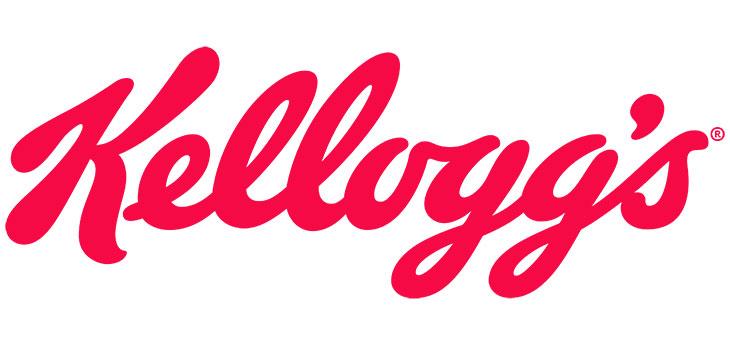 Kellog's cursive font logo