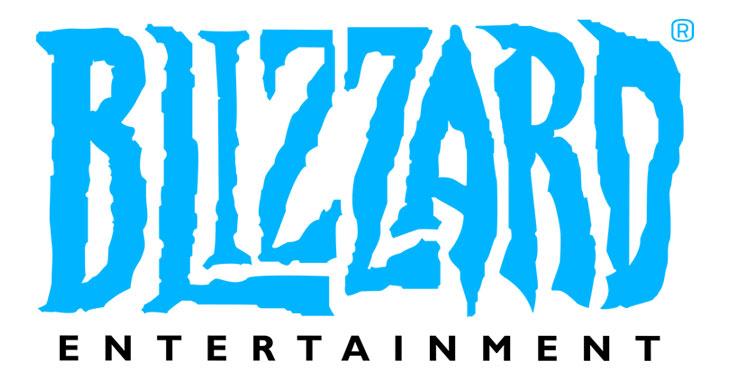 Blizzard Entertainment fantasy font logo