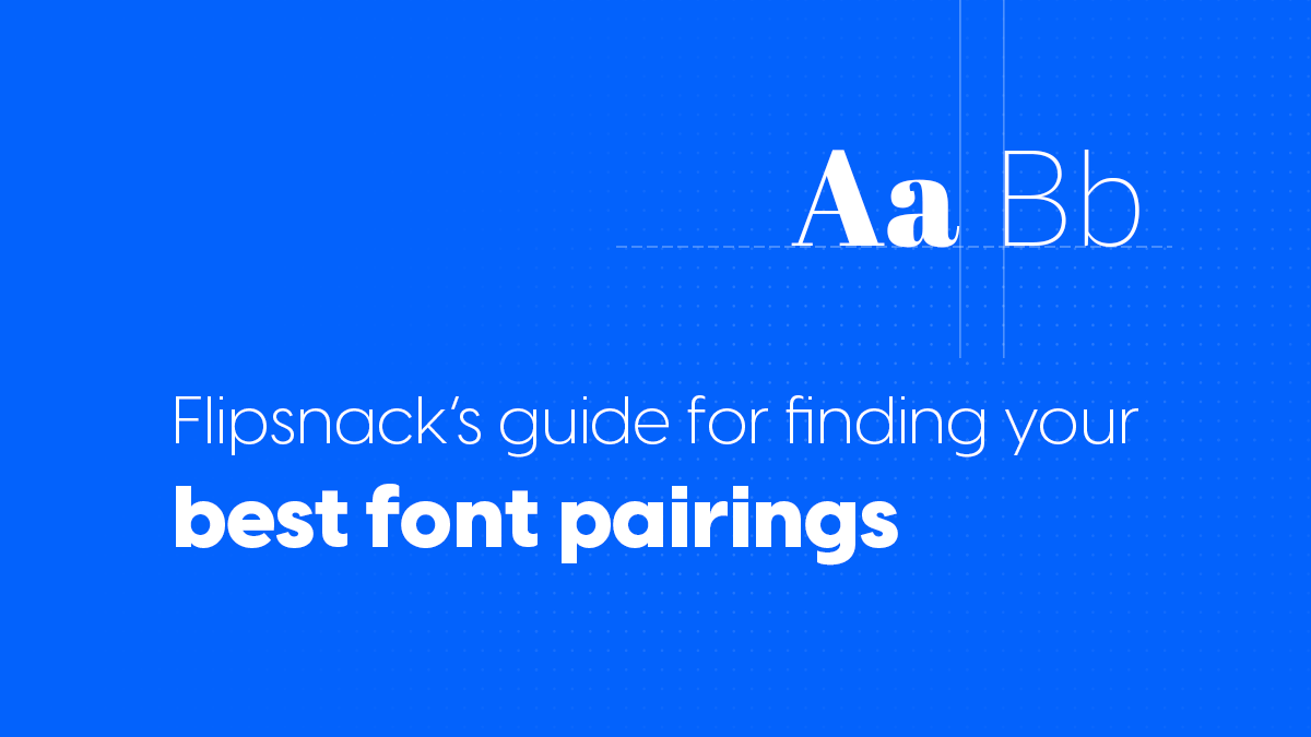 best font pairing blog article cover