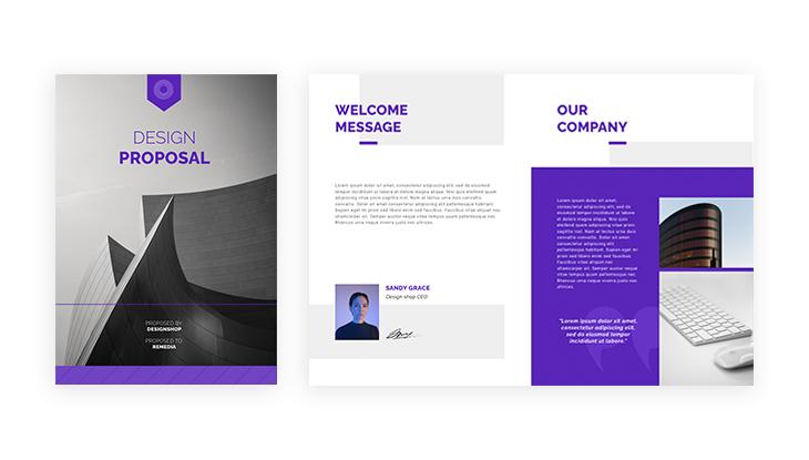 Design Company Business Proposal Sample
