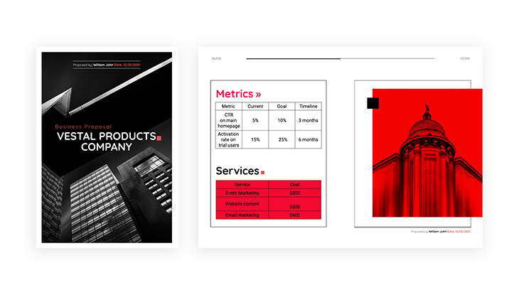 Product Business Proposal Template