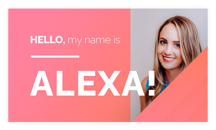 simple name tag template