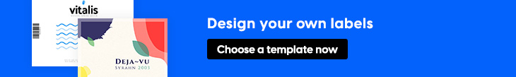 design your own label banner