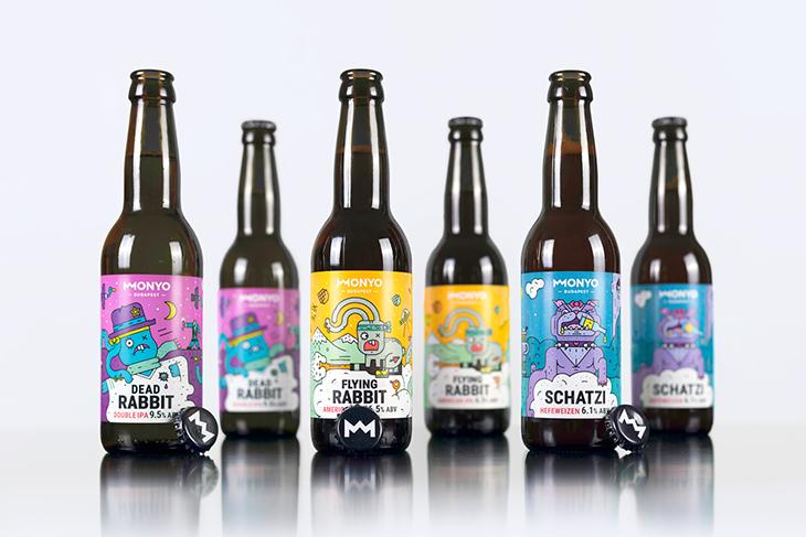 craft beer label example