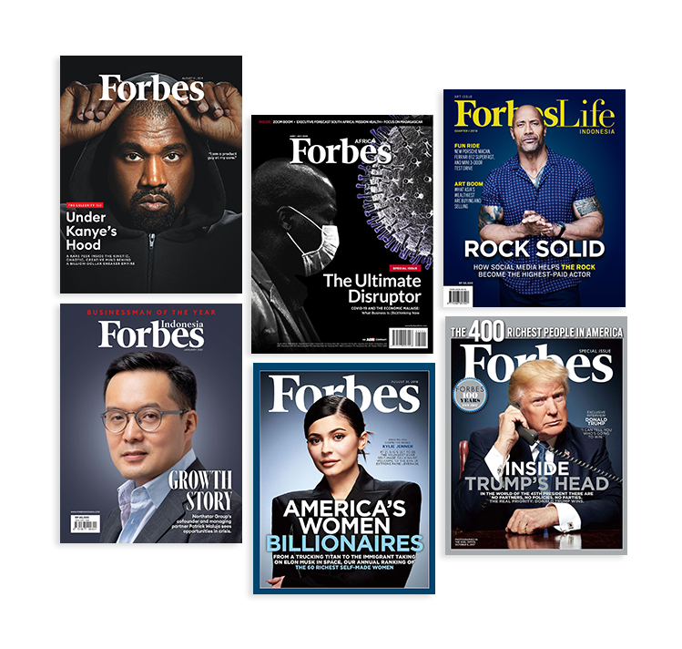 Forbes - one of the best business magazines
