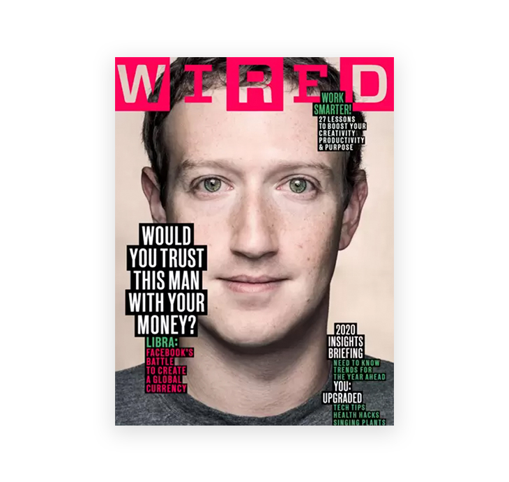 front cover of WIRED