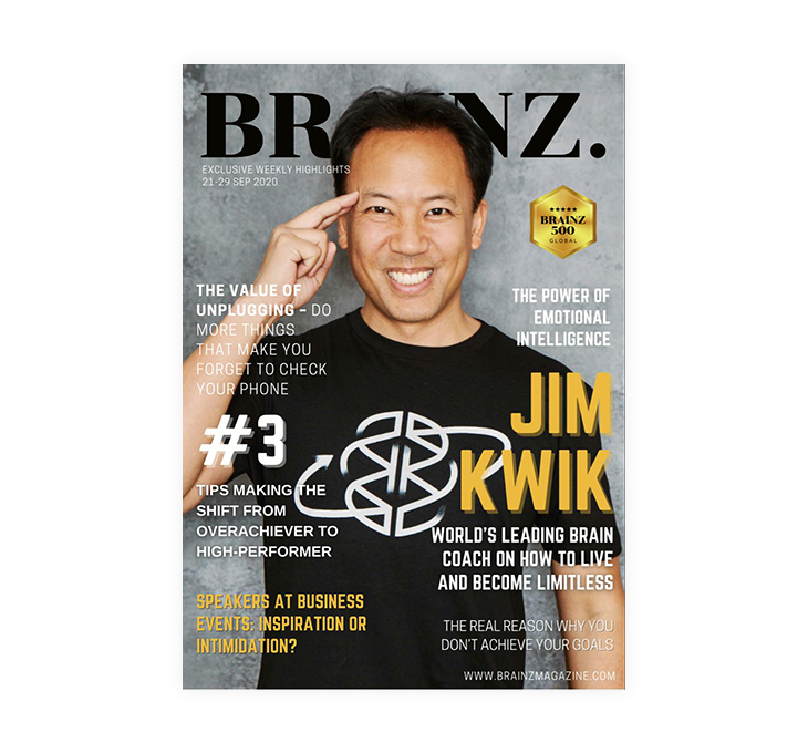 front cover of Brainz