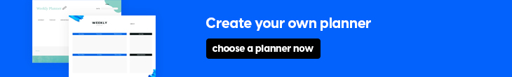 create your own planner online