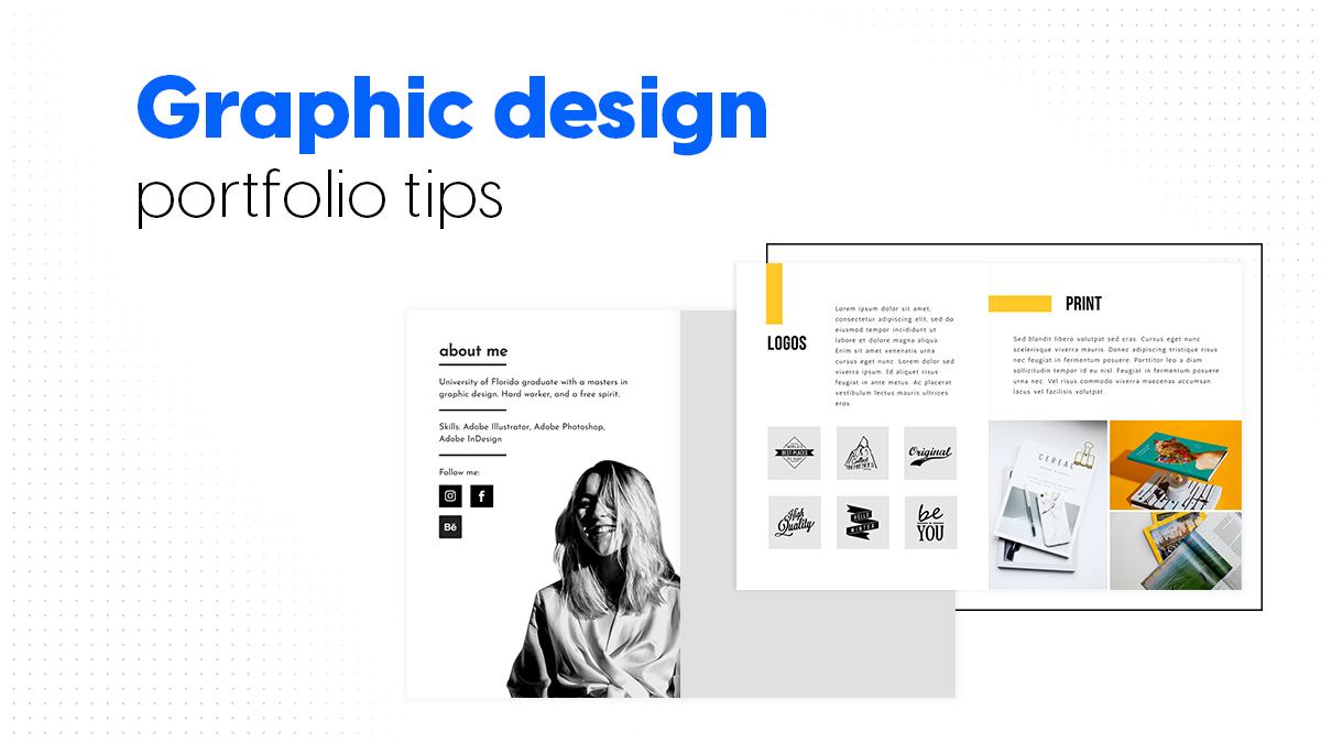 Cover graphic design portfolio tips