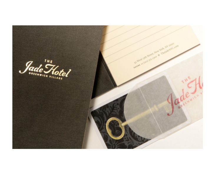 how The Jade Hotel uses letterheads