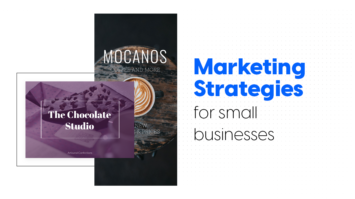 Marketing strategies for small businesses cover
