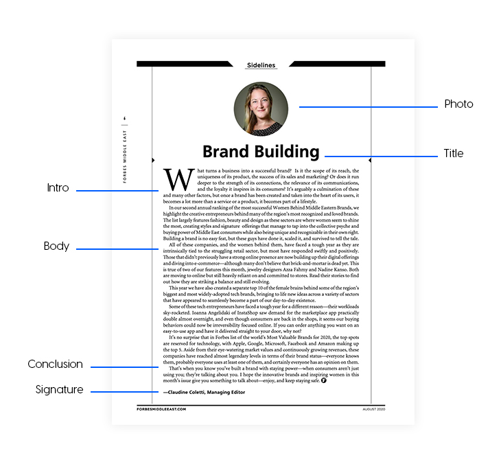 How to write a professional editorial