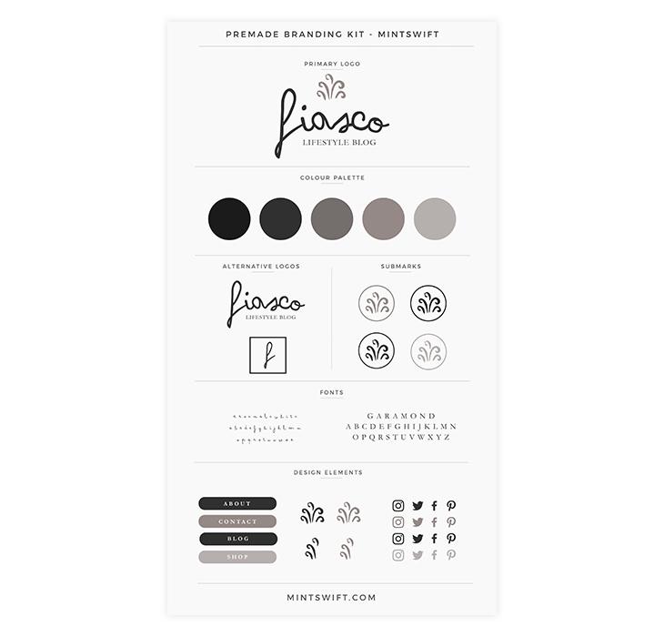 Branding kit example