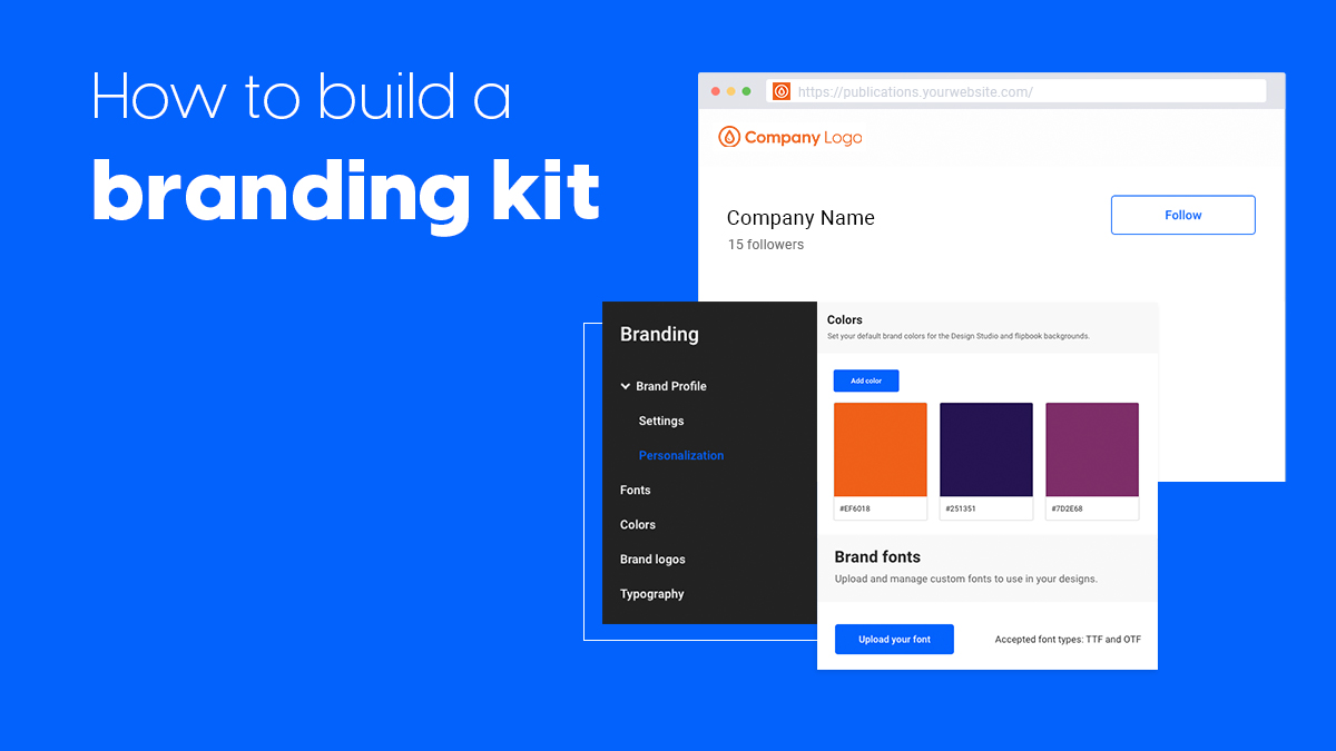How to build a branding kit article cover