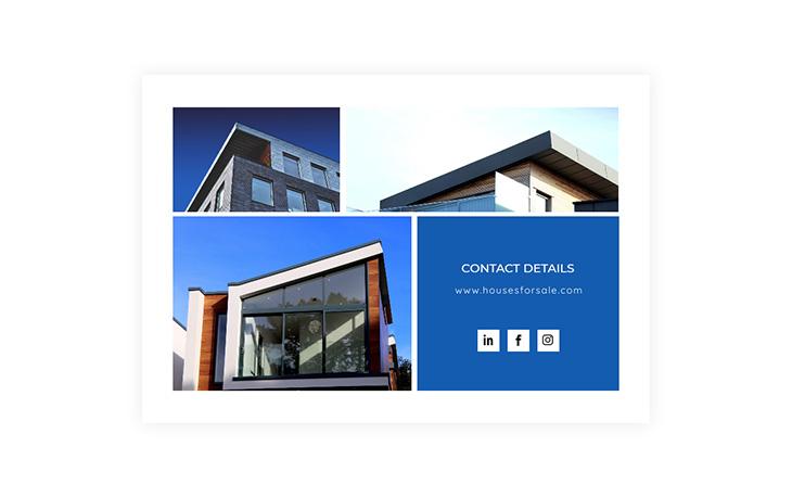 brochure design contact details
