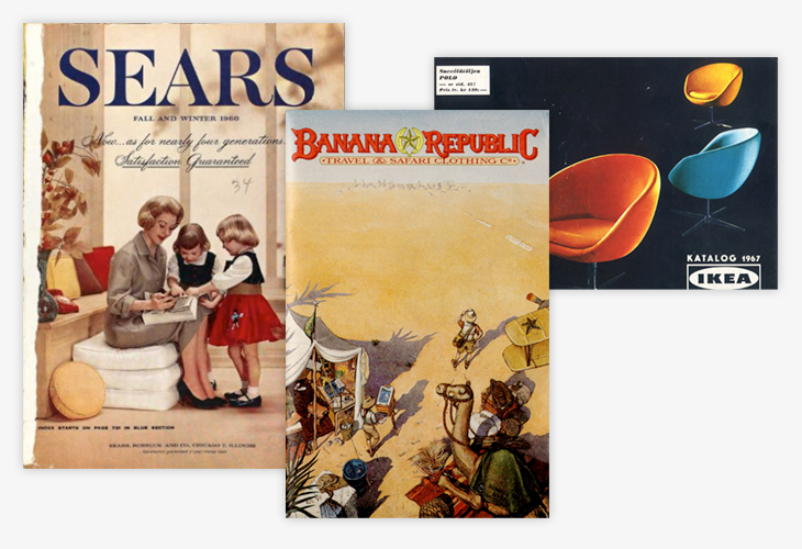 different mail order catalogs examples