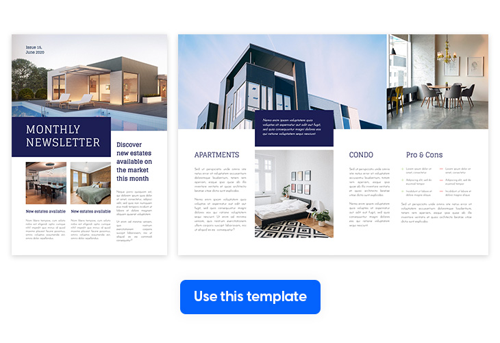 monthly-newsletter-template-made-in-Flipsnack