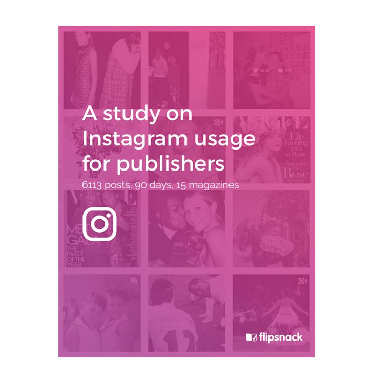 Instagram case study Flipsnack