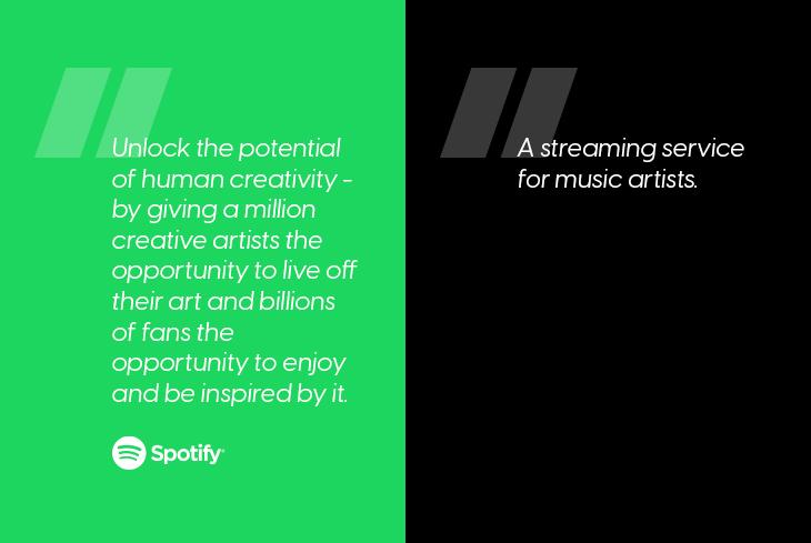 Spotify mission statement