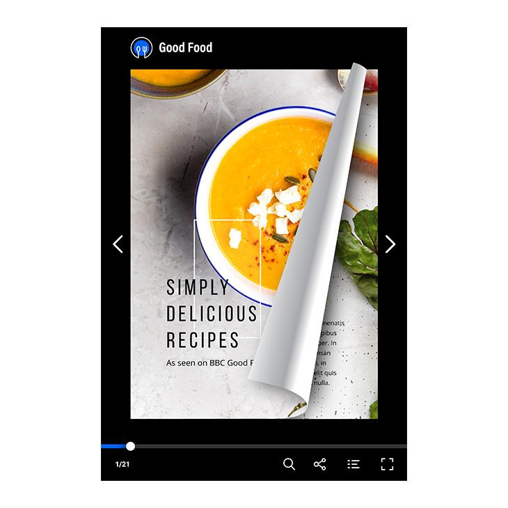 Digital flipbooks offer a better reading experience