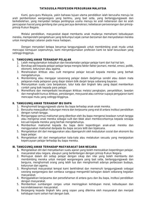 Tatasusila Profesion Perguruan By Sokiahsiren Flipsnack