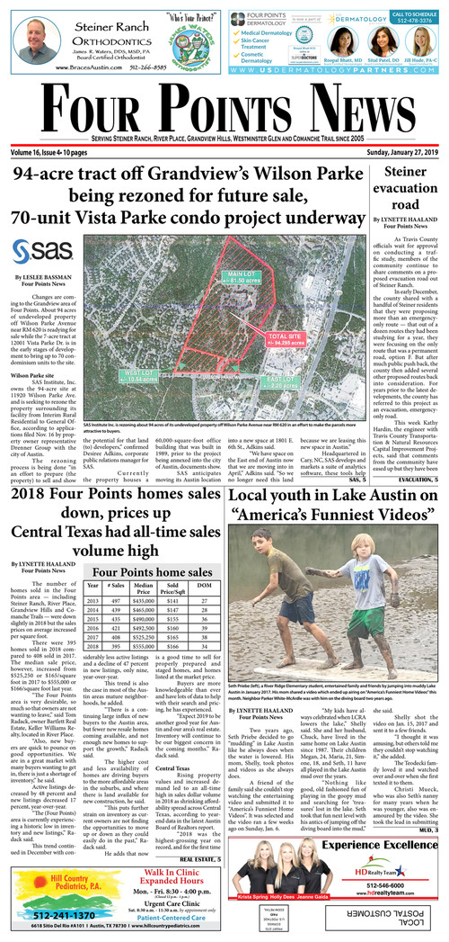 January 27 2019 Issue - Four Points News