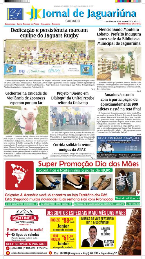 b628889648 EDIÇÃO 1271 ‹ Jornal de Jaguariúna