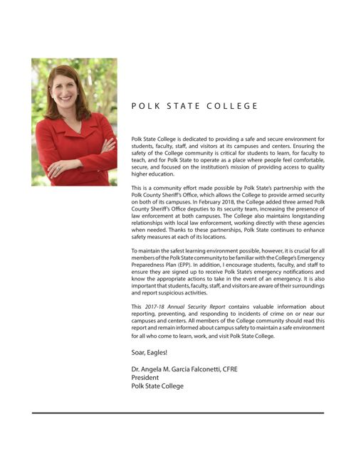 Campus Safety & Security | Polk State College