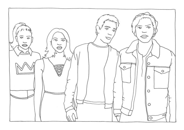 riverdale coloring pages Riverdale by Sharon   Flipsnack riverdale coloring pages