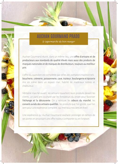 Catalogue Auchan Gourmand Prado