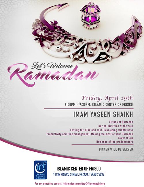 ICF Ramadan Programs 2019/1440 – ICF