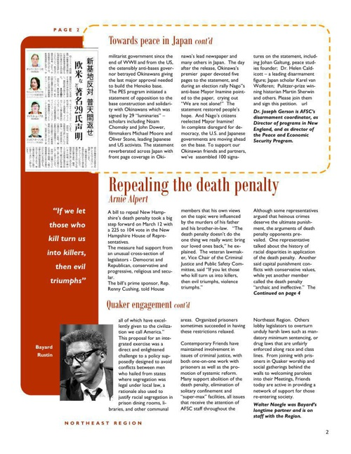AFSC newsletter 2 by Lewis Webb - Flipsnack