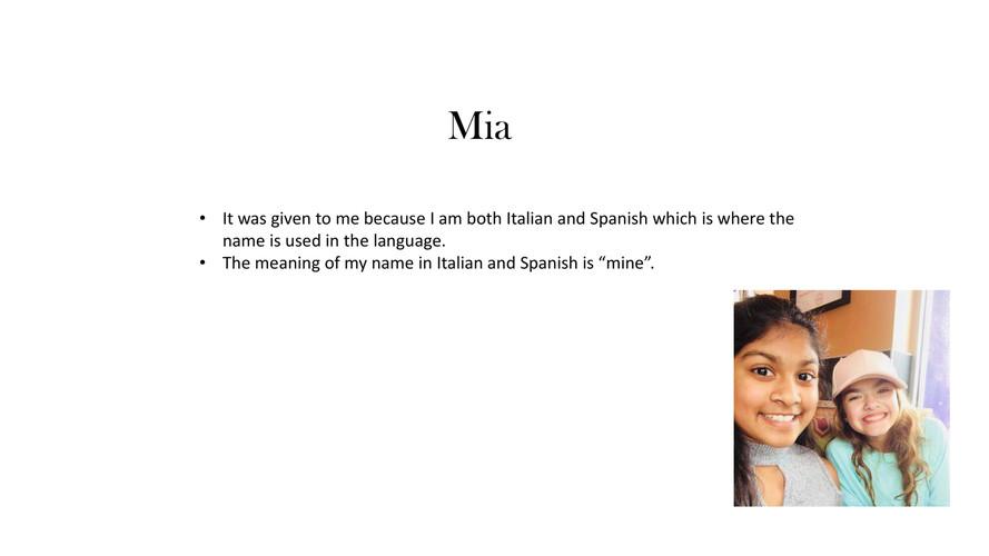 Mia Tumminello all about me project by Miatu - Flipsnack