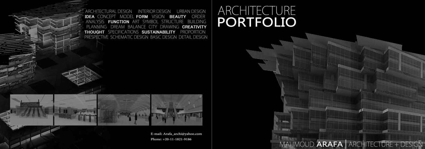 PORTFOLIO ARCHITECTURE DESIGN Mahmoud Arafa 2 by