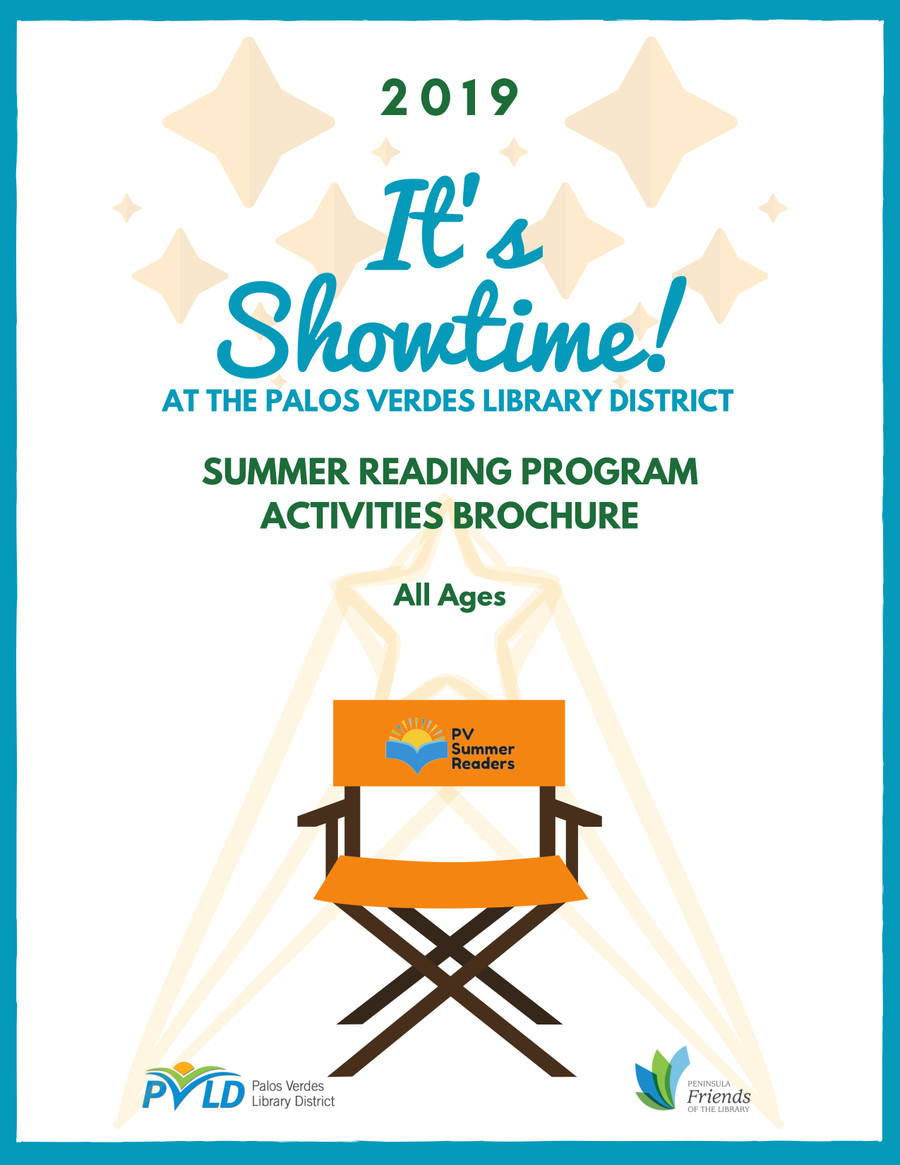 Summer Reading Program 2019   Palos Verdes Library District
