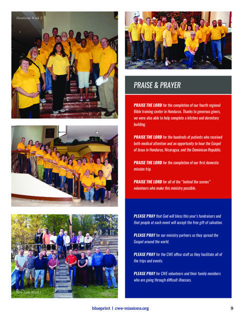 Cwe missions blueprint newsletter email malvernweather Choice Image