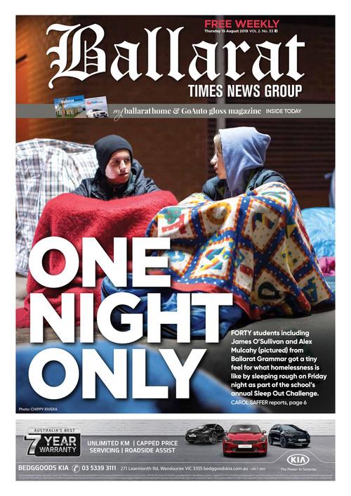 Ballarat Times - 15 August 2019 - Ballarat