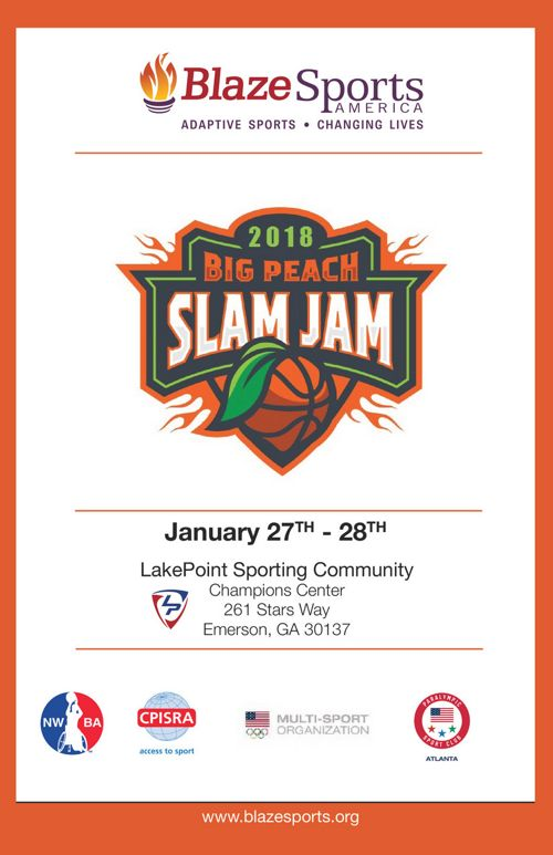 2nd Annual Big Peach Slam Jam Wheelchair Basketball
