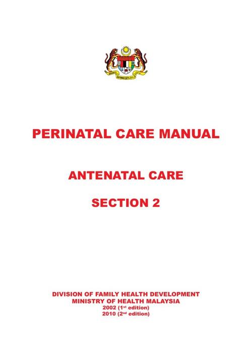 Perinatal care manual 3rd edition 2013 | congenital disorder.